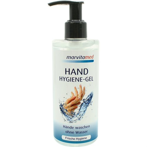 Marvita med Hygienic Gel 250ml pump, with aloe