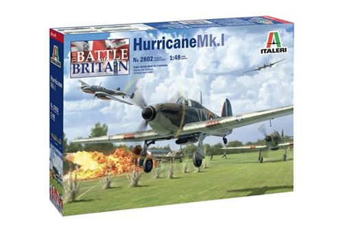 Italeri Hurricane MK.I - Battle of Britain 80th Anniv 1:48