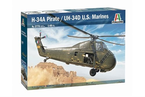 Italeri H-34A ''Pirate'' / UH-34 D 1:48