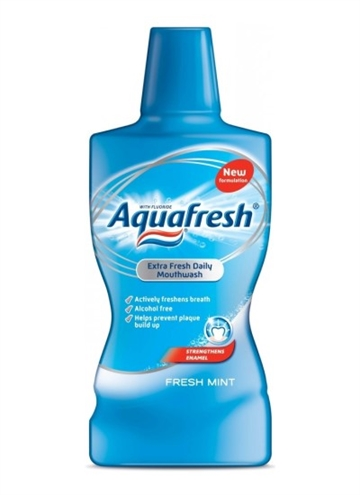 Aquafresh Mouthwash - Fresh Mint 500ml