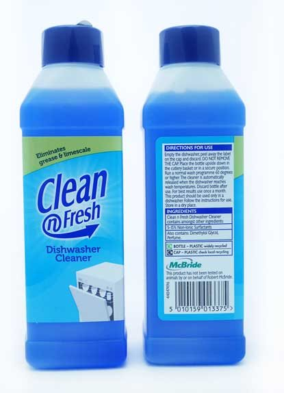 Clean & Fresh Dishwasher Cleaner 250 ml