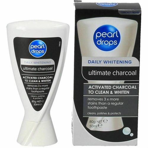 Pearldrops Toothpaste Ultimate Charcoal 50ml
