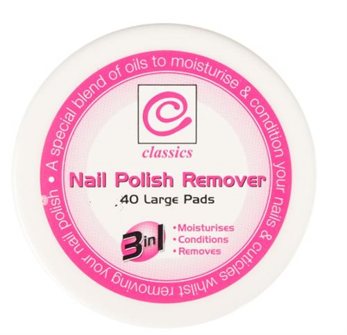 Classic Nail Polish Remove Pads 40'S