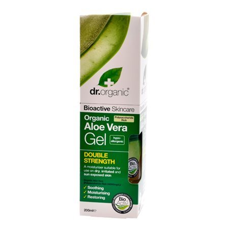 Dr. Organic, Aloe Vera Gel Double Strength, 200 ml.