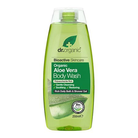 Dr. Organic, Aloe Vera Body Wash, 250 Ml.