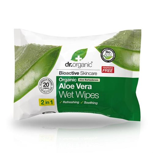 Dr. Organic Aloe Vera Wet Wipes