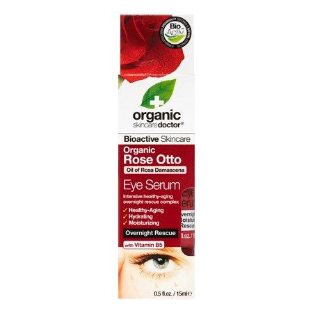 Dr. Organic, Rose Otto Eye Serum, 15 Ml.