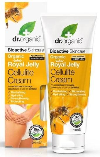 Dr. Organic, Royal Jelly Cellulite Cream, 200 Ml.