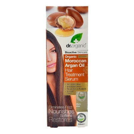 Dr. Organic, Morroccan Argan Oil Hair Treatment Serum, 100 Ml.