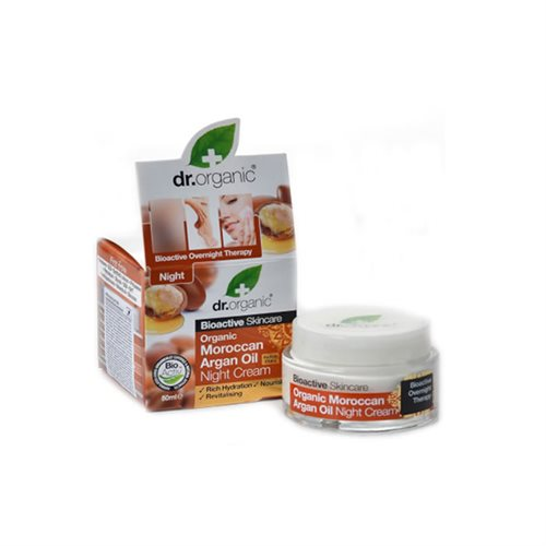 Dr. Organic, Moroccan Argan Oil Night Cream