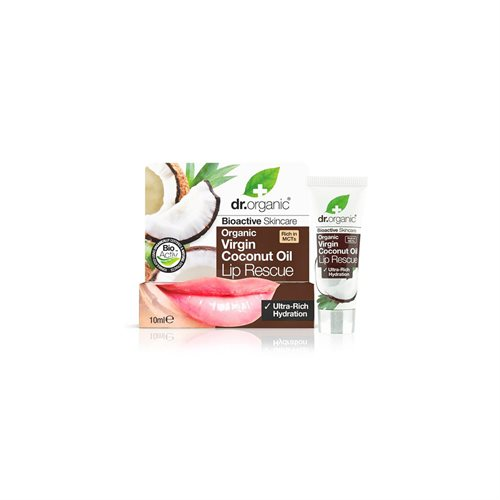 Dr. Organic, Virgin Coconut Oil Lip Balm, 10 Ml.