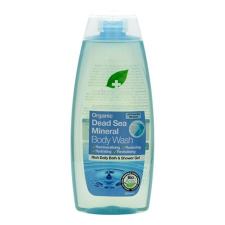 Dr. Organic, Dead Sea Mineral Body Wash, 250 Ml.