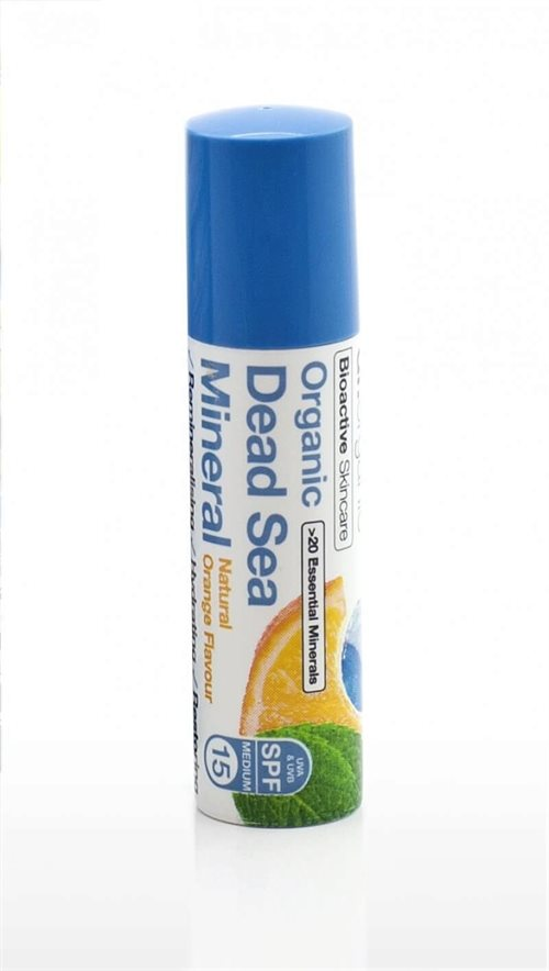 Dr. Organic, Dead Sea Mineral Lip Balm SPF 15, 5.7 Ml.