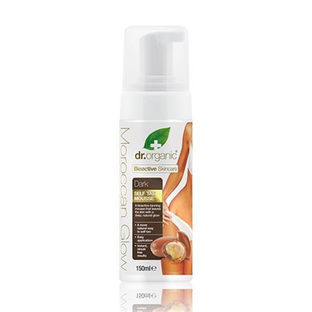 Dr. Organic, Morroccan Glow Self Tan Mousse, 150 Ml.