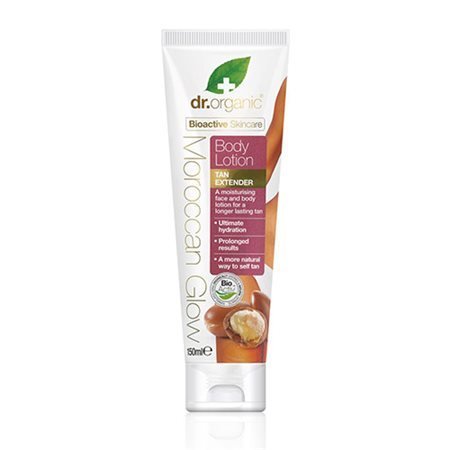 Dr. Organic, Moroccan glow Body Lotion, 150 Ml.