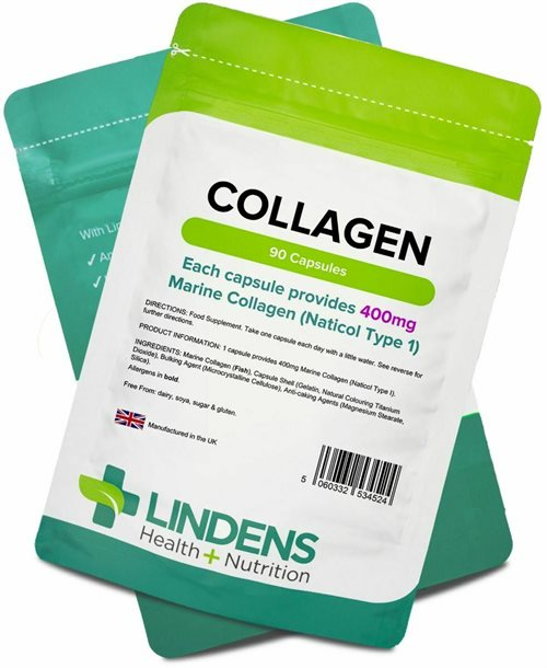Lindens Collagen, 90 Kapsler