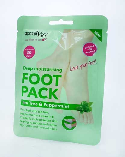 Derma V10 Tea Tree Foot Pack Kit