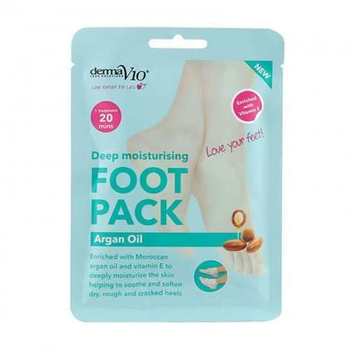 Derma V10 Argan Oil Foot Pack Kit