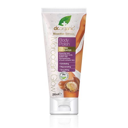 Dr. Organic, Moroccan Glow Body Polish, 200 Ml.