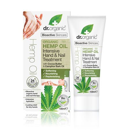 Dr. Organic, Hemp Oil Intensive Hand & Nail Treatment, 100 Ml.