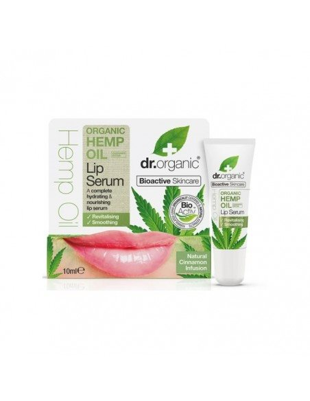 Dr. Organic, Hemp Oil Lip Serum, 10 Ml.