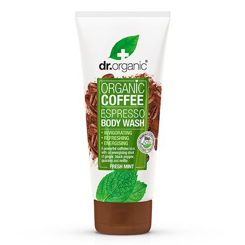 Dr. Organic Espresso Body Wash, 200 Ml.