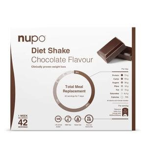 Nupo Diet Value Pack - Chocolate Flavour 1,344 kg