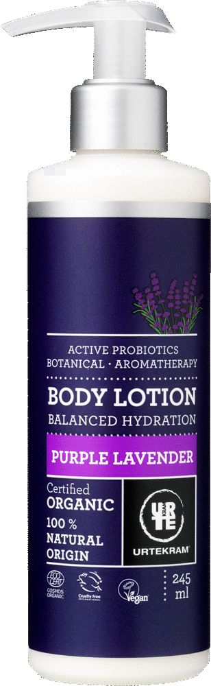 URTEKRAM Purple Lavender Body Lotion 0,245 l