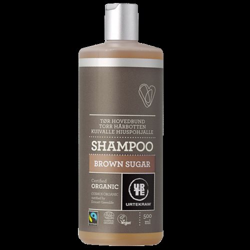 URTEKRAM Brown Sugar Shampoo ft øko 0,5 l