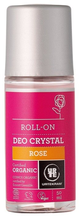 URTEKRAM Rose deokrystal roll-on 0,05 l