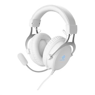 Deltaco, Whiteline WH85 Stereo gaming headset, White