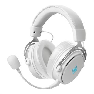 Deltaco, Whiteline WH90 Wireless gaming headset, White