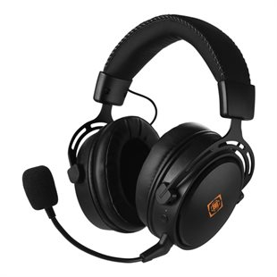 Deltaco, DH410 Wireless gaming headset, Black