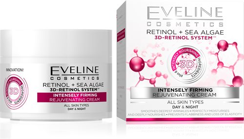 Eveline 3D-Retinol System Intensely Firming Day&Night Cream 50ml