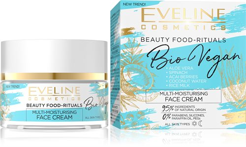 Bio Vegan Multi-Moisturising Day And Night Cream 50ml