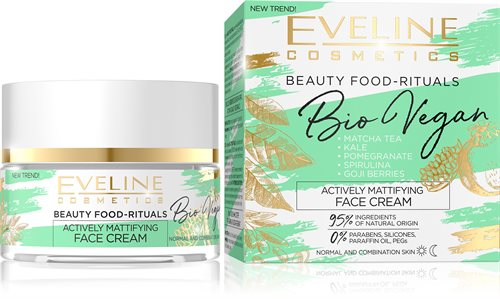 Bio Vegan Actively Mattifying Day And Night Face Cream 50ml