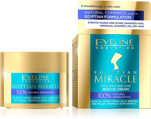 Egyptian Miracle Face, Body And Hair Rescue Cream 40ml