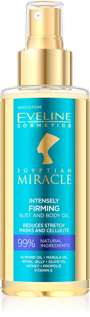 Eveline Egyptian Miracle Intensely Firming Bust&Body Oil 150ml