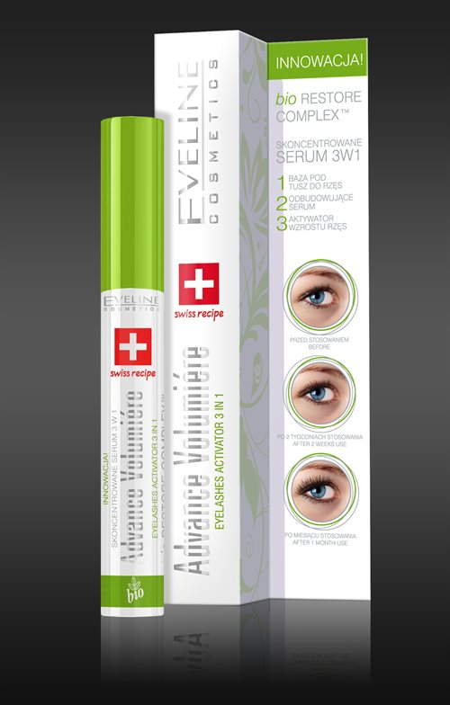 Advance Volumiere Eyelashes Activator 3In1