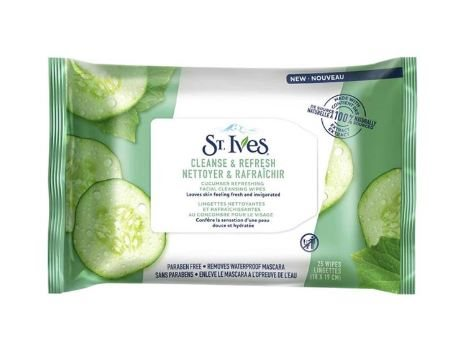 St Ives Wipes Cleanse & Refresh 25'S