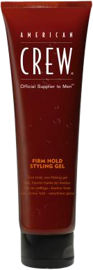 American Crew Styling Gel - Firm Hold Bottle 390ml