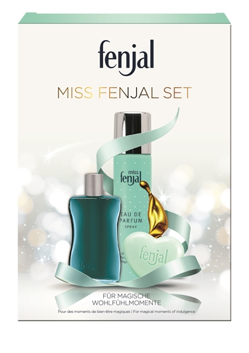 FENJAL MISS FENJAL Gift box EDP 75ml + Oil bath 50ml + Soab 90g