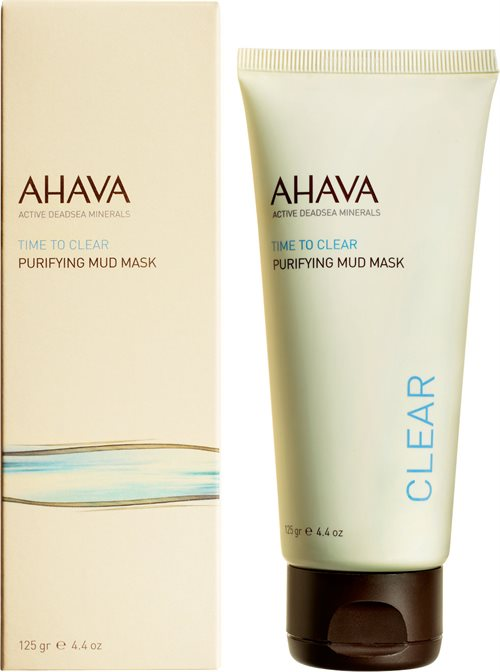 Ahava Time To Clear Purifying Mud Mask 100ml