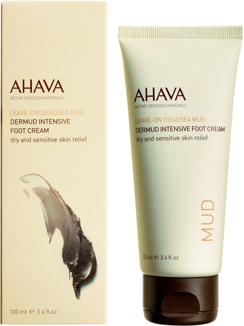 Ahava Deadsea Mud Dermud Intensive Foot Cream 100ml <br />