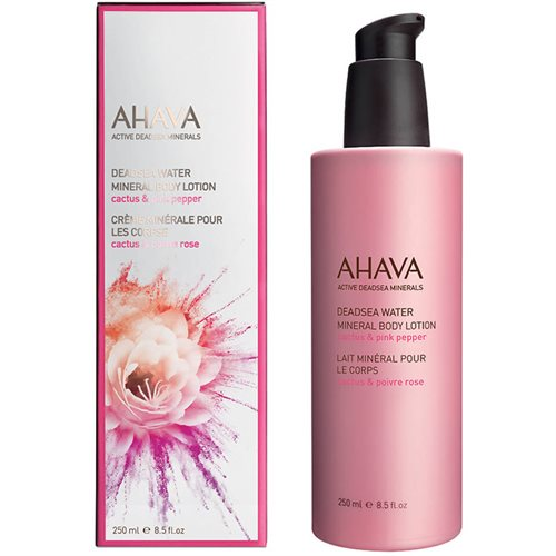 Ahava Deadsea Water Mineral Body Lotion 250ml Cactus & Pink Pepper