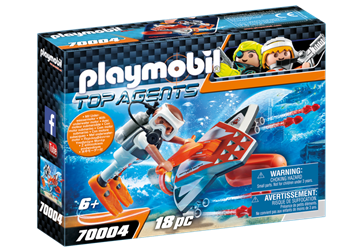 Playmobil Spy Team Subwing 70004
