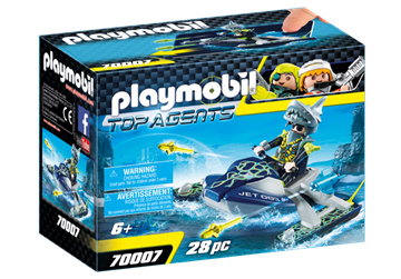 Playmobil Team S.H.A.R.K. Rocket Rafter 70007