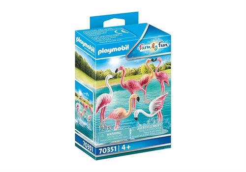 Playmobil Flamingoflok 70351