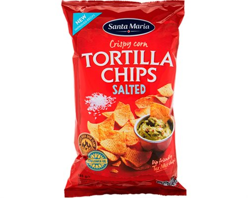 Santa Maria Tortilla Chips Salted 185 g