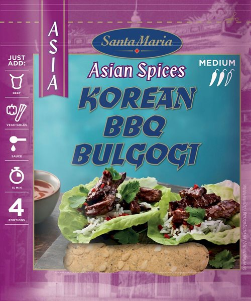 Santa Maria Asian Spices Korean BBQ 35 g